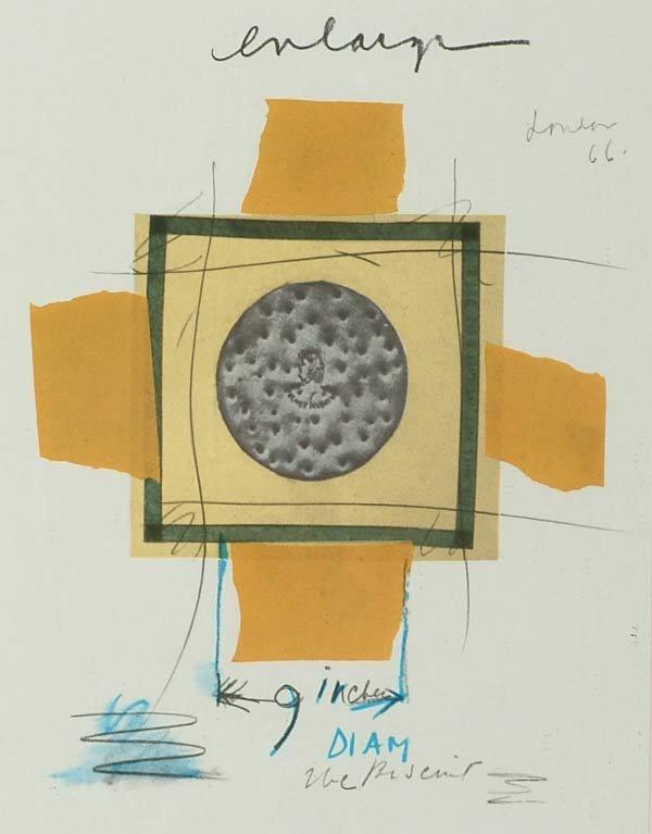 1012: Prints Claes Oldenburg (1929- ), NOTES IN