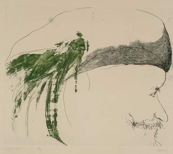 1013: Prints Leonard Baskin (1922-2000), S. DEL