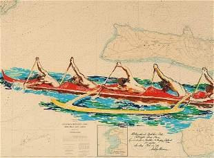 Prints LeRoy Neiman (1927- ), INTERNATION