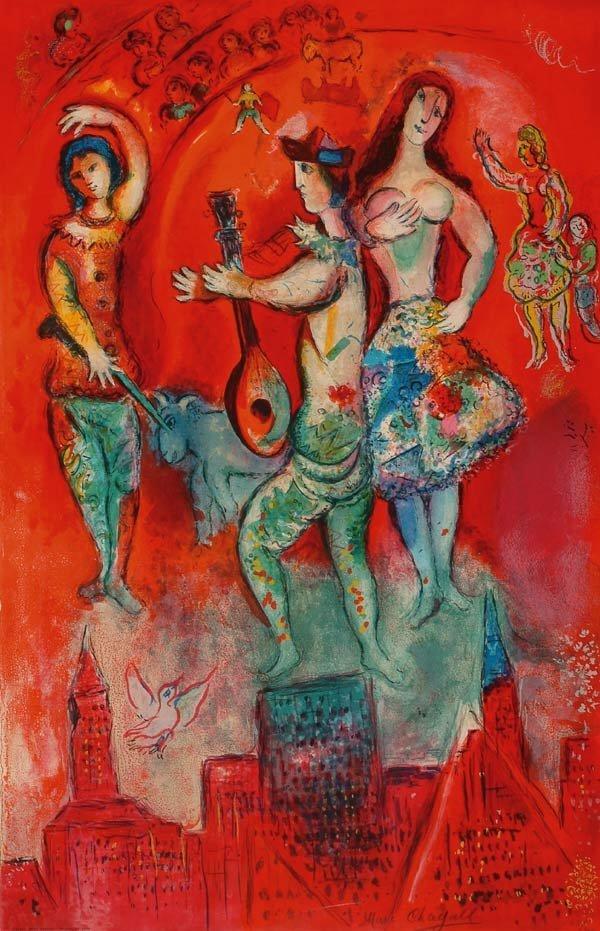 1123: Prints After Marc Chagall (1887-1985), CA