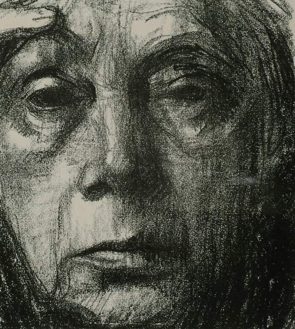 1143: Prints Kathe Kollwitz (1867-1945), SELBST