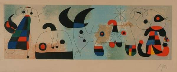 1179: Prints After Joan Miro (1893-1983), HARVA