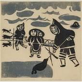 KELLYPALIK MANGITAK (1940-), Cape Dorset / Kinngait