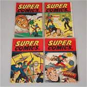 Four Canadian F. E. Howard Publications 'Super Comics',