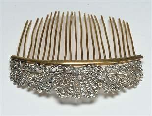 1: Fashion Antique Silver Paste Haircom