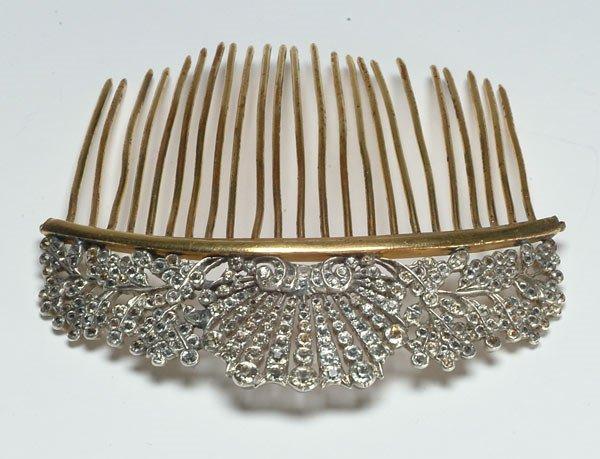 1: 1: Fashion Antique Silver Paste Haircom