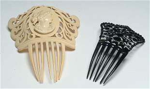 2: Fashion Two Period Hair Combs