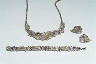 10: Fashion Boucher Crystal Parure