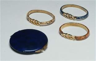 21: Fashion Three Gucci Bracelets and En