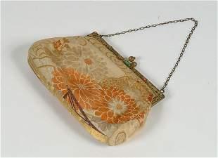 25: Fashion Antique Brocade Evening Bag,