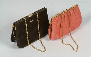 38: Fashion Two Exotic Skin Evening Bags
