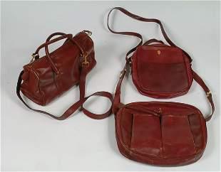 56: Fashion Three Cartier Leather Day Ba