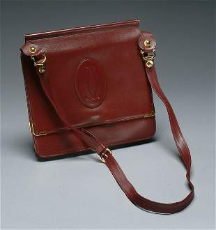59: Fashion Cartier Leather Document Pur