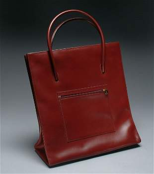 60: Fashion Cartier Leather Day Bag