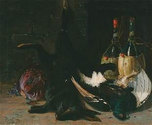 American Francois de Blois STILL LIFE