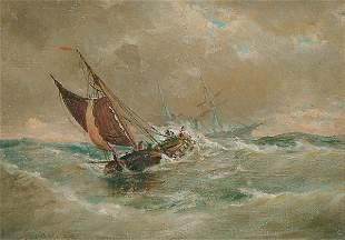 American Elisha J. T. Baker SHIPS