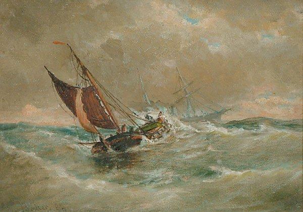 1015: American Elisha J. T. Baker SHIPS