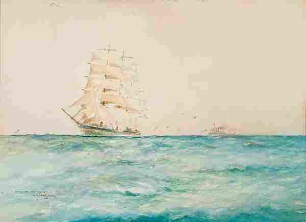 American William M. Birchall WINDJAMMER