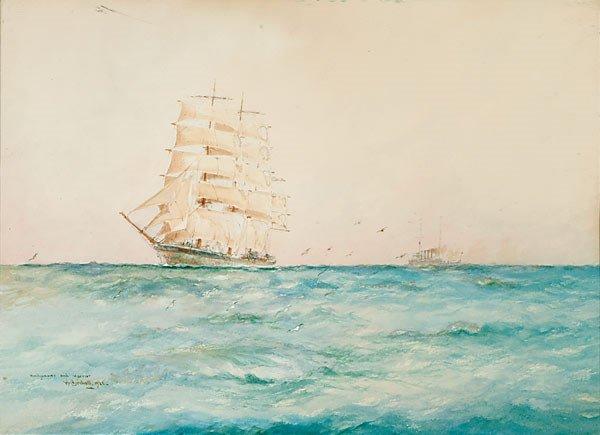 1016: American William M. Birchall WINDJAMMER