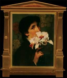 1150: British Sir Lawrence Alma-Tadema ORCHIDS