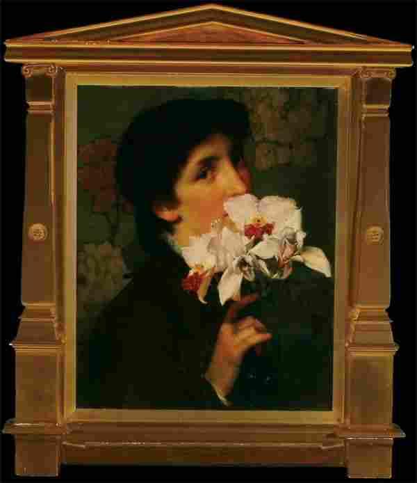 British Sir Lawrence Alma-Tadema ORCHIDS