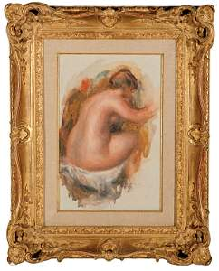 1277: French Pierre A. Renoir NUDE