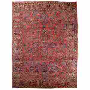 Sarouk Carpet, Persian, c.1930
