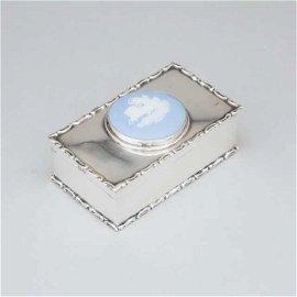 Edwardian Silver Rectangular Snuff Box, Cohen &