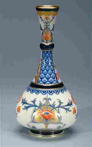 Moorcroft Macintyre Aurelian Vase, c.1897-98