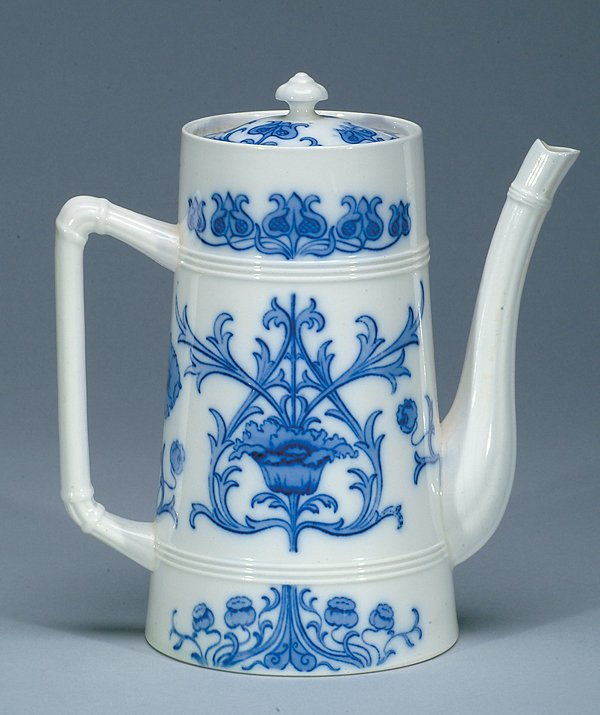 8: Moorcroft Macintyre Coffee Pot, c.1898-1900