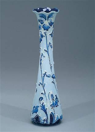 Moorcroft Macintyre Florian Violet Vase, c.1898-1900