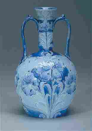 Moorcroft Macintyre Florian Freesia Vase, c.1900