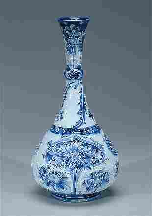 Moorcroft Macintyre Florian Vase, c.1900