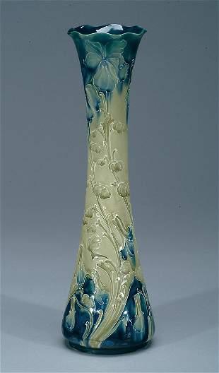 Moorcroft Macintyre Florian Violet Vase, c.1902