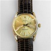 Rolex Oyster Perpetual 'Bombé' Wristwatch, circa