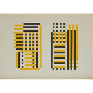 Josef Albers (1888-1976), CARACAS E.A., 1973