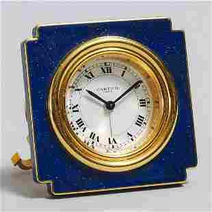 Cartier Alarm Clock, late 20th century, 3 x 3 in —