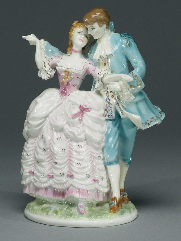 1001: Royal Worcester The Flirtation RW4614