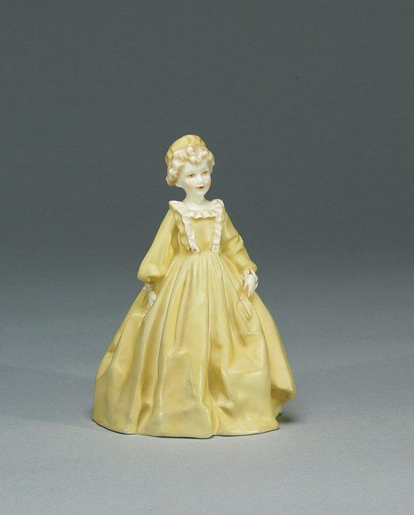 1003: Royal Worcester Grandmother's Dress RW3081
