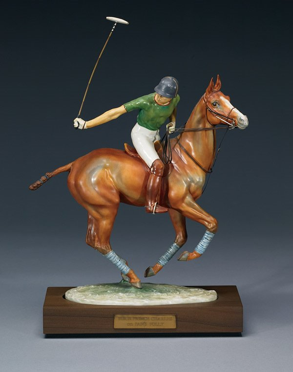 1004:  Royal Worcester Prince Charles on Pans Folly