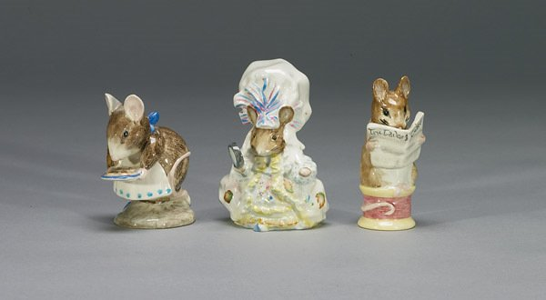 1014: Beswick Lady Mouse From Tailor of Glouceste