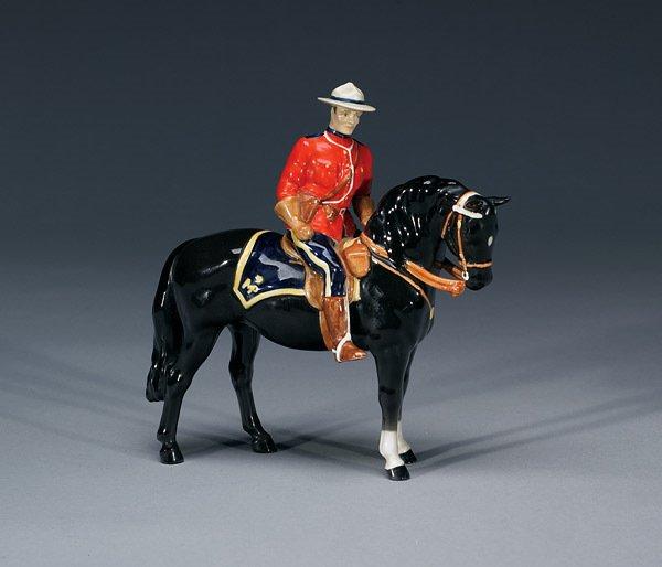 1015: Beswick Canadian Mountie #1375