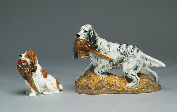 1022: Royal Doulton English Setter With Pheasant HN2529