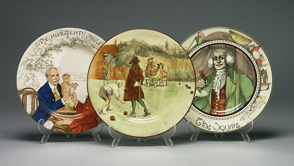 1034: Royal Doulton The Squire, The Nineteenth Hole and