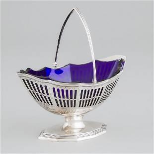 George III Silver Pierced Sugar Basket, Richard Carter,