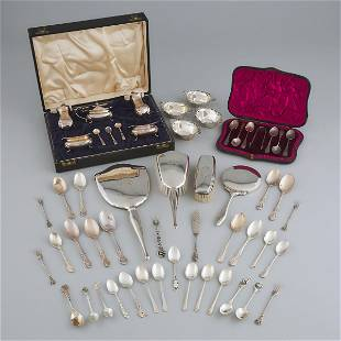 Group of English and North American Silver, late