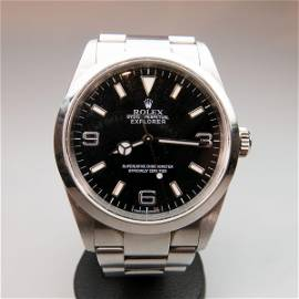 Rolex Oyster Perpetual Explorer Wristwatch, circa 2004;