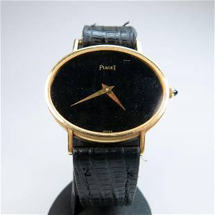 Piaget Wristwatch, circa 1970's; reference #9871; case