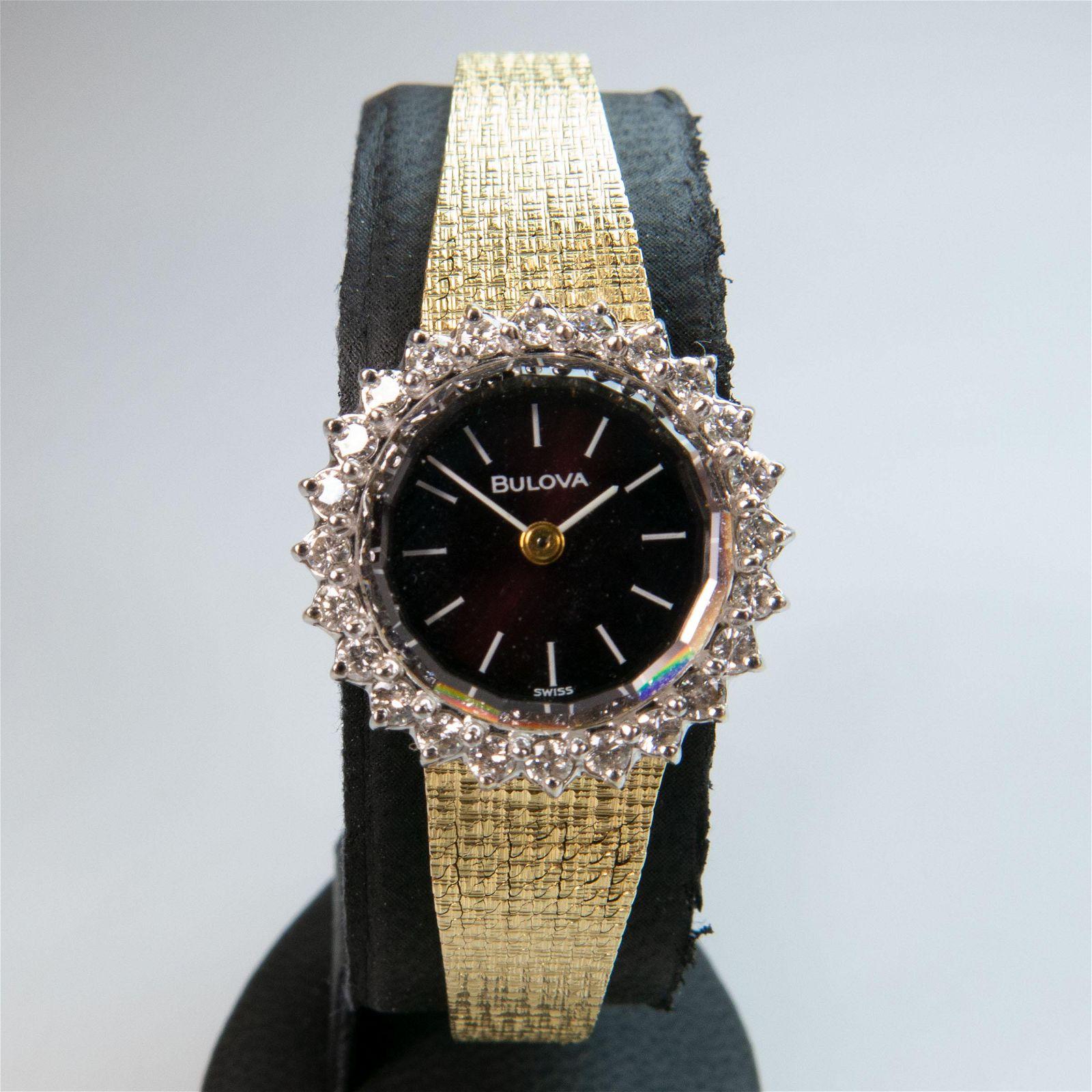 Lady's Bulova Wristwatch, circa 1975; 23 jewel cal.5BD