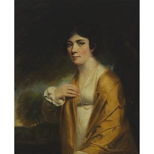 Attributed to John Hoppner (1758-1810), PORTRAIT OF A